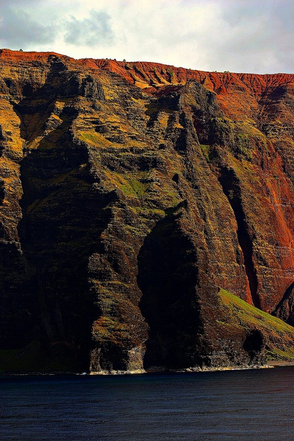 The cliffs of INSANITY! oh.. my mistake.  It's only the Faerghall cliffs, tribal coast