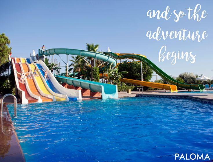 So the adventure begins! Eğlence başlasın! #PALOMA #Oceana