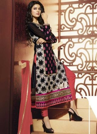 手机壳定制jordan retro  mens Gripping Black And Pink Embroidery Work Pakistani Suit http  www angelnx com Salwar Kameez Pakistani Suits