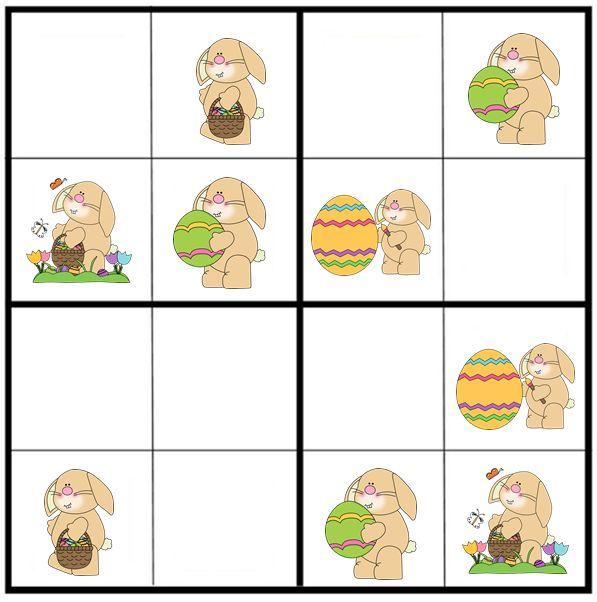 * Sudoku: Pasen-haasjes