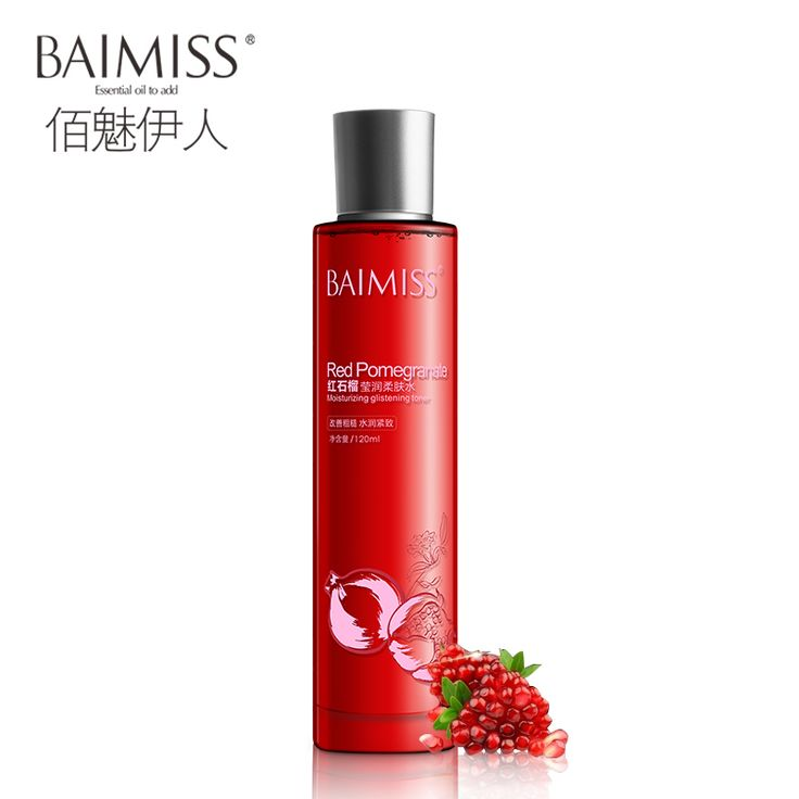Find More Toners Information about BAIMISS Red Pomegranate Ageless Face Toner 120ml Serum Skin Care Moisturized Whitening Bright Skin Tone Acne Treatment Beauty,High Quality toner bag,China toners compatibles Suppliers, Cheap toner station from Skin Pure on Aliexpress.com