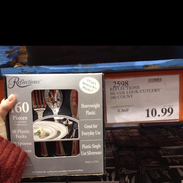 Costco Wedding Gift Ideas : Costco fancy plastic ware. Mals wedding Pinterest Plastic ...