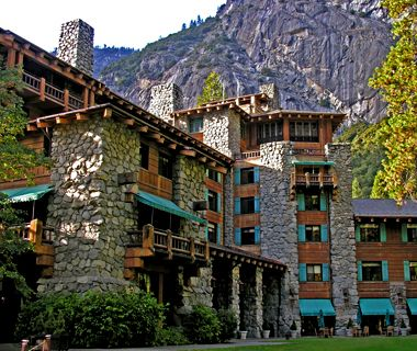 The Ahwahnee, Yosemite, CA - stunning!  Loved it (and Yosemite) years ago and would LOVE to go back!
