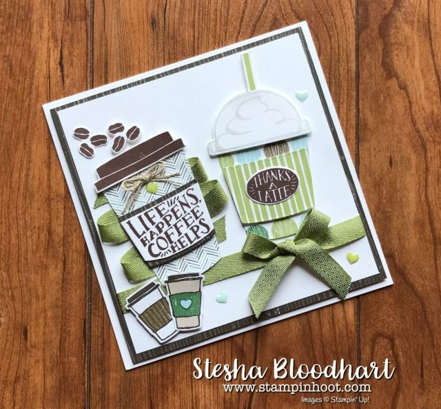 61 best stampin 39 up coffee cafe images on pinterest - Geburtstagsideen 60 ...