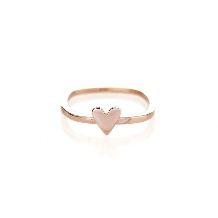 The 25 best Rose gold heart ring ideas on Pinterest