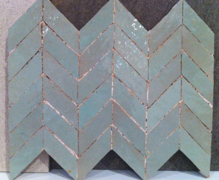 hand made Moroccan tiles