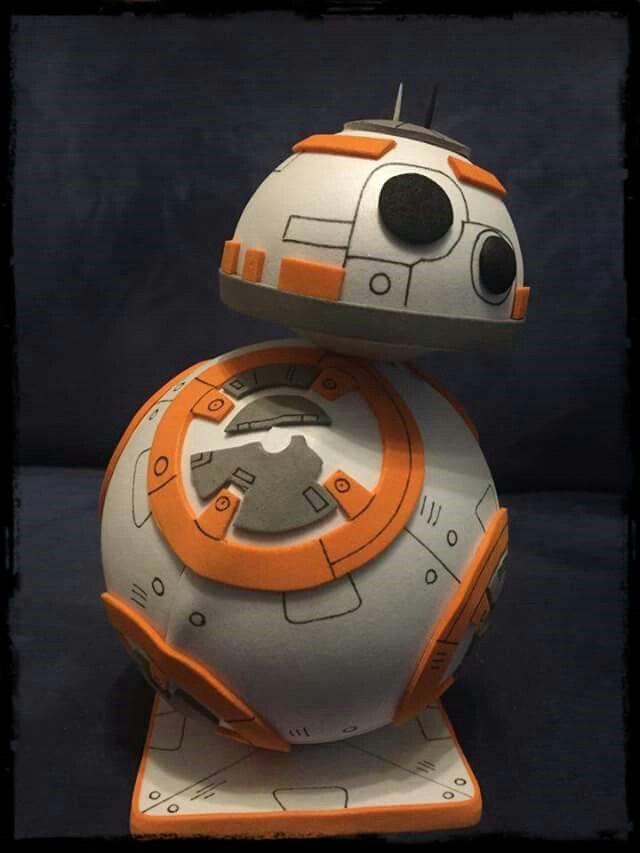Star Wars BB8 doll handmade #bb8 #starwars #handmade #exaltedshop #fofucha #fommy #foam    bambola completamente fatta a mano realizzata in gomma crepla...che ne dite? :-)