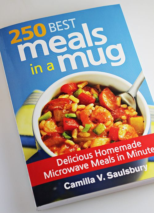 250 Best Meals in a Mug Cookbook + Brown Rice with Edamame and Pineapple recipe #15MinuteSuppers