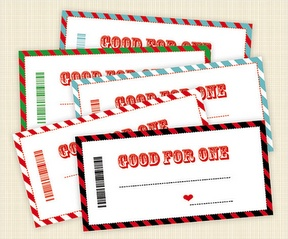 DIY Father's Day gift ideas: printable Father's Day coupons