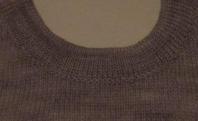 Necklines for Singlebed Knitting Machines