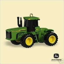 Hallmark 2006 John Deere 9620 TRACTOR Christmas Tree Ornament