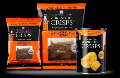 Henderson's flavour Yorkshire Crisps are the best crisps ...