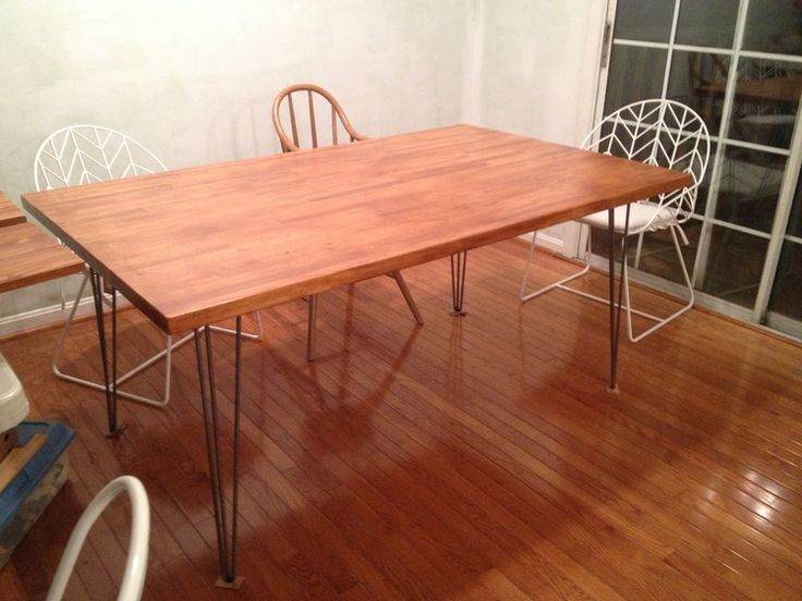 butcher block dining table round and chairs tables blocks room
