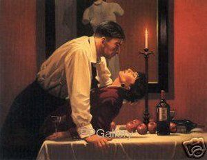 Party's Over by Jack Vettriano.