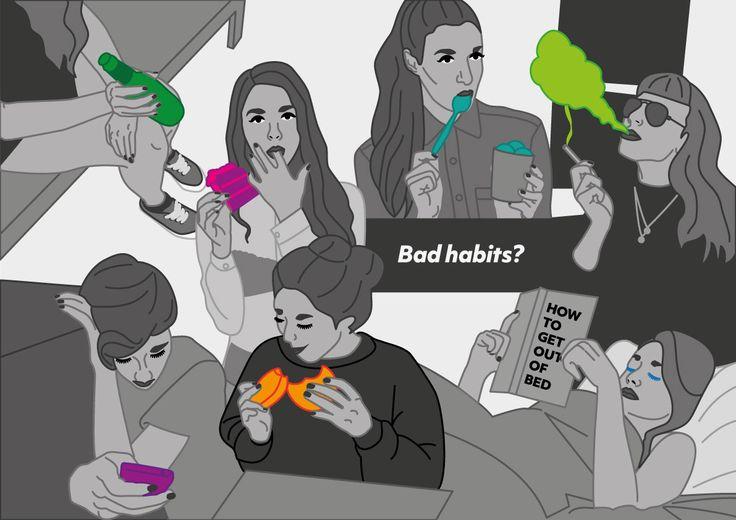 Bad Habits / Ann-Katrine Johansson