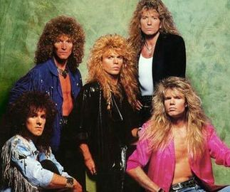 Whitesnake - One of the few 70's bands to last and become even MORE POPULAR in the 80's.  Their 1987 Self-Titled album is incredible.