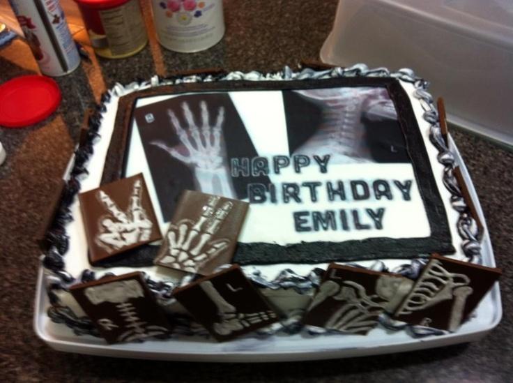 8 best Radiology Cake images on Pinterest Graduation cake Rad