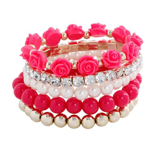 Fashion Mix Beads Bracelet – Freedomster #bracelet #fashion #beads #awesome #collection