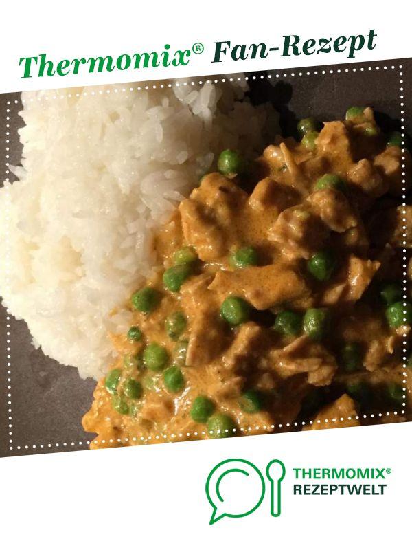 Putengeschnetzeltes Mit Erbsen Rezept Rezepte Thermomix Rezepte Putengeschnetzeltes