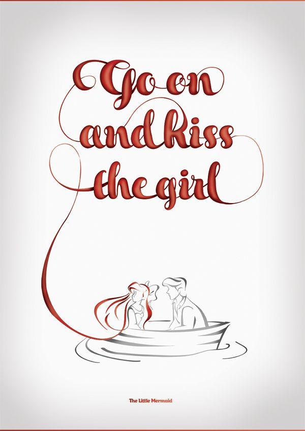 #KissTheGirl