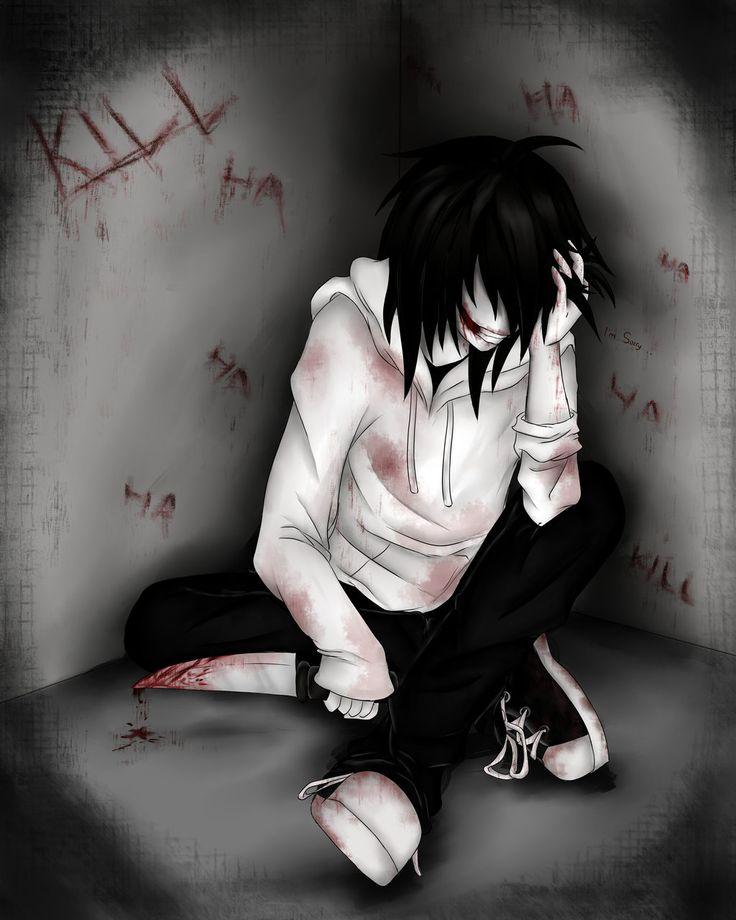 Jeff the Killer Creepypasta fan art | Jeff The Killer :iNSaNiTY: by Ren-Ryuki on deviantART