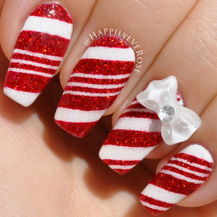 Christmas Nail Art Tutorial Gingerbread Galore: 1025 Best Images About Nails On Pinterest