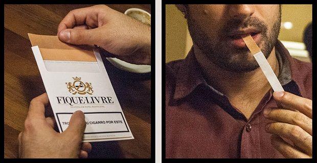 Postales contra la adicción al tabaco