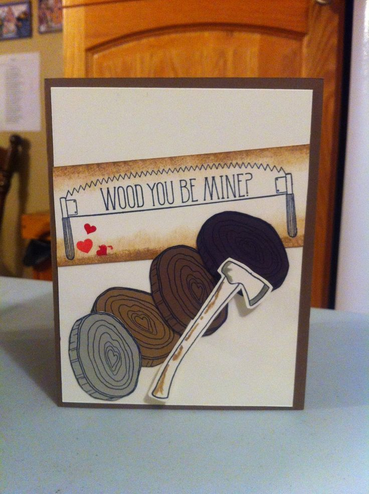 Stampin' With Jac: Manly Valentine Cards