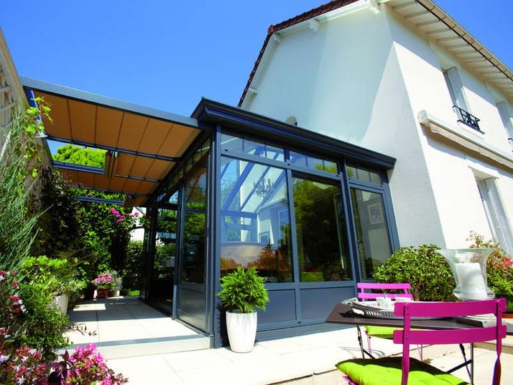 v randa et pergola pinterest verandas sunroom and porch. Black Bedroom Furniture Sets. Home Design Ideas