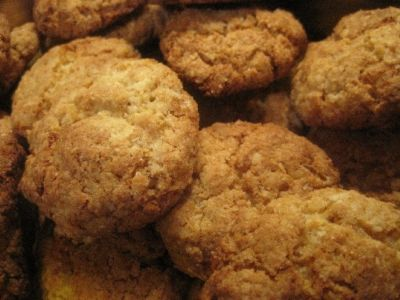 Butternut Biscuits. Makes a large batch freeze half prior to baking if you prefer. Use small teaspoon as they will spread!