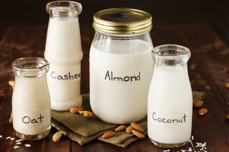 How to make almond, coconut, oat, and cashew milk. Food.com