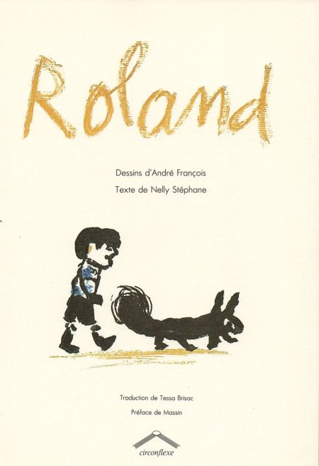 Roland. Dessins d'André François #kidlit  #childrensbook