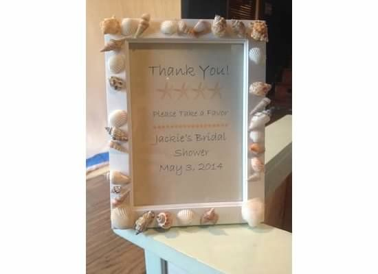 thank you sign for favors