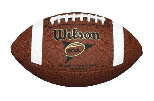 Wilson NCAA Supreme Football with Pump and Tee, Brown by Wilson. $19.61. For more than a century, Wilson has proven it's the number one name in America's most popular sport, football.  Combining one of a kind designs and patented technologies, Wilson continues to produce the most sought after game balls.