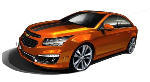 2014 Chevrolet Cruze RS Plus Concept HD Wallpaper