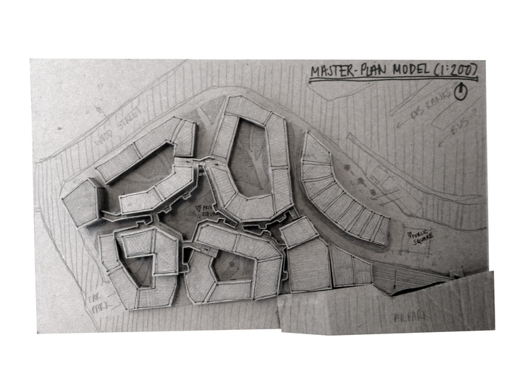 HOUSING PROJECT [SEP-DEC '11] - Housing Masterplan Model.