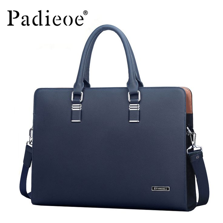Padieoe <b>Luxury Brand</b> Genuine Real Cow <b>Leather</b> Messenger Bags ...