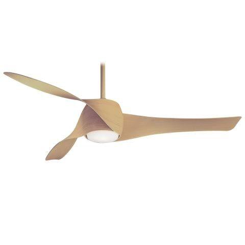 Minka Aire Artemis Ceiling Fan in Distressed Koa Finish