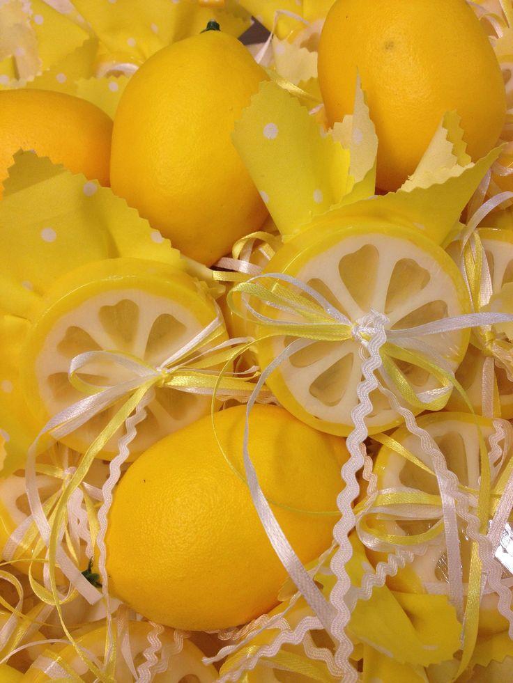 Favor kit-soap-Lemon