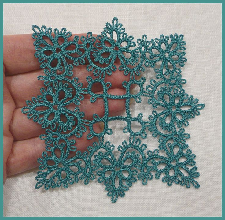 Needle Tatting Instructions | Tatting 43 - Romantic free-standing Medallion tatting designs by ...