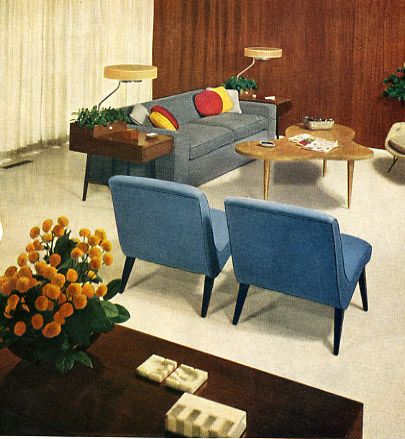 retro chic: midcentury lounge