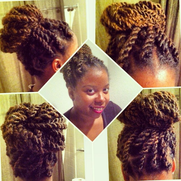 106 best updos images on pinterest hairstyles 4c hair and havana twist two colors updo natural hair protective style pmusecretfo Choice Image