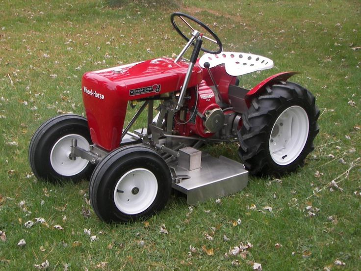Best Wheel Horse Tractors : Best images about garden tractor on pinterest