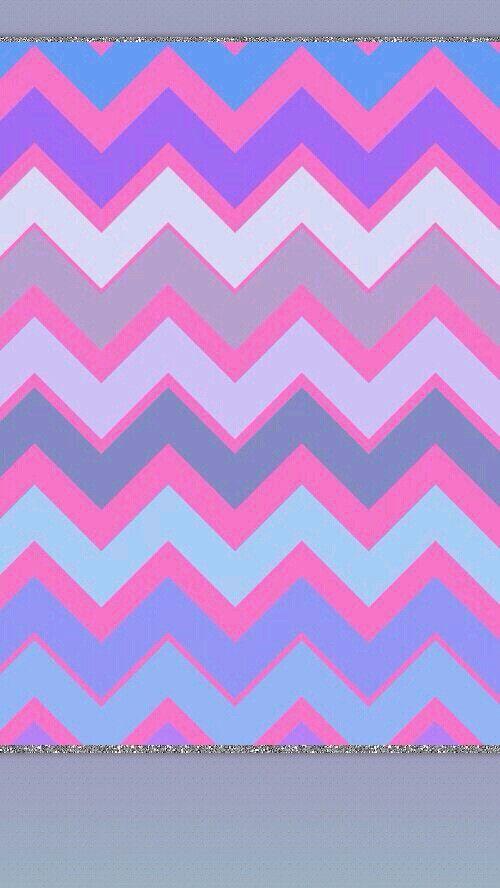 Cute Zig Zag Wallpapers Pastel Chevron Pink Lines Stripes Cheveron Pinterest