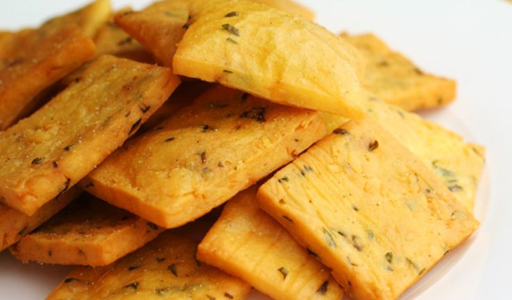 made of chickpeas flour and fried and are just a portion of the fried ...