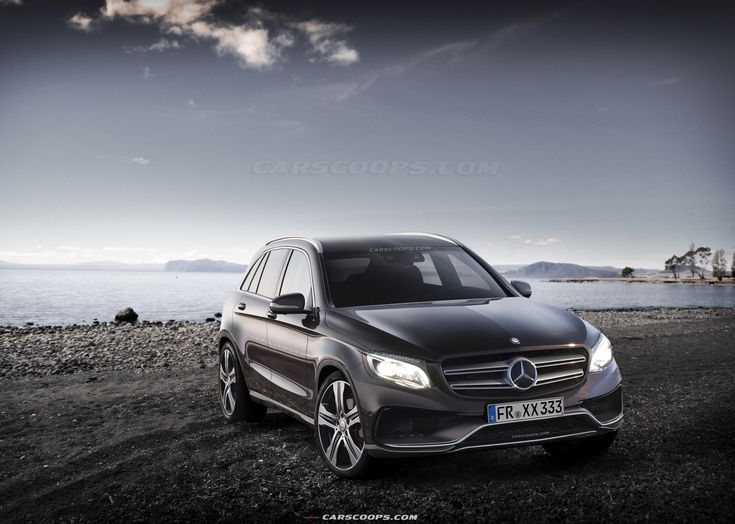 Mercedes glc amg 2016 205 car renders pinterest for Mercedes benz suv models list