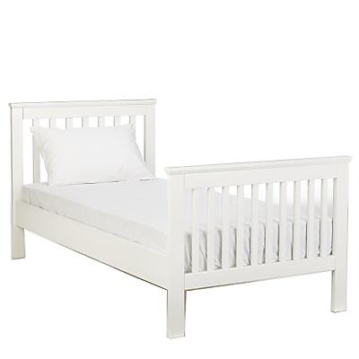 John Lewis lasko white kids bed