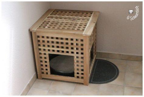diy katzenklo hol ikea hacks katzenspielzeug und mehr rund um katze. Black Bedroom Furniture Sets. Home Design Ideas