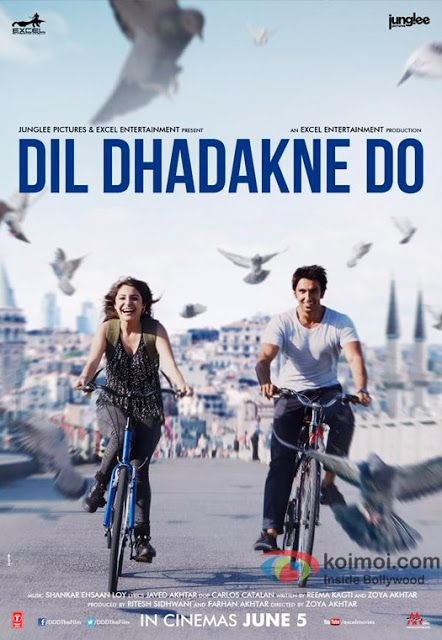 Dil Dhadakne Do Movie Download! Free Download Drama and Romantic Bollywood Movie! 720p | 1080p http://www.freedownloadedmoviez.com/2015/10/dil-dhadakne-do-movie-download.html #movies #movie #bollywoodmovies #drama #romance #romantic #movies2015 #dildhadaknedo