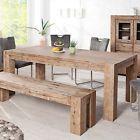 Massiver Esstisch GIANT Akazie Tisch 200 - 300cm ausziehbarer Küchentisch Holz